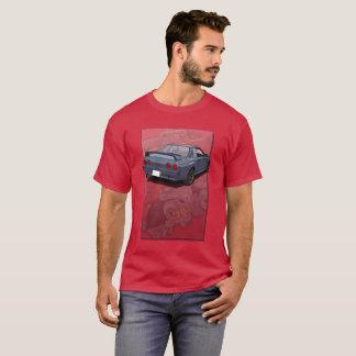 Camiseta Skyline R32 de Nissan com contexto do motor