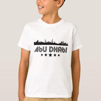 Camiseta Skyline retro de Abu Dhabi