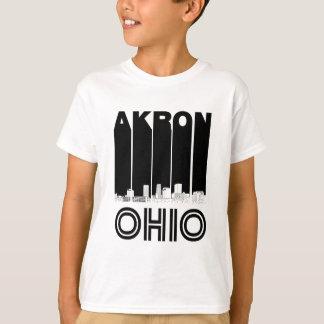 Camiseta Skyline retro de Akron Ohio