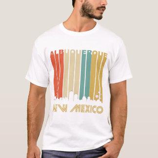 Camiseta Skyline retro de Albuquerque
