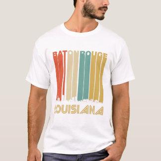 Camiseta Skyline retro de Baton Rouge Louisiana