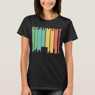 Camiseta Skyline retro de Beaumont Texas do estilo dos anos