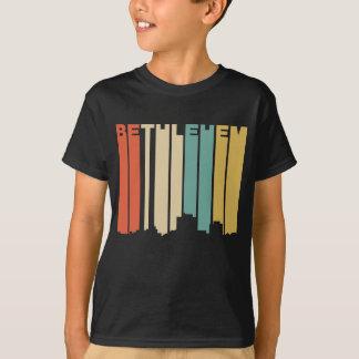 Camiseta Skyline retro de Bethlehem Pensilvânia do estilo