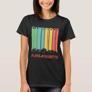 Camiseta Skyline retro de Cambridge Massachusetts