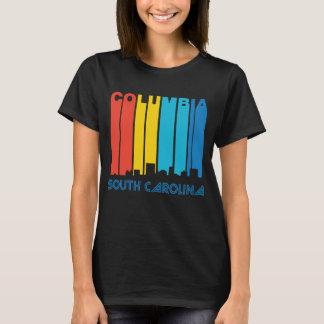 Camiseta Skyline retro de Colômbia South Carolina do estilo