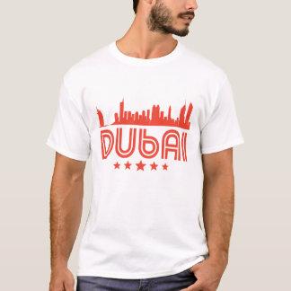 Camiseta Skyline retro de Dubai