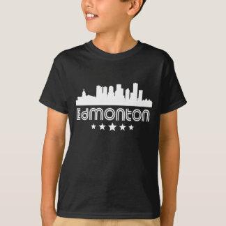 Camiseta Skyline retro de Edmonton