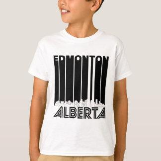 Camiseta Skyline retro de Edmonton Alberta Canadá