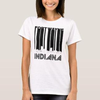 Camiseta Skyline retro de Fort Wayne Indiana