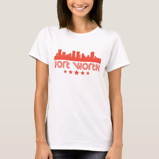 Camiseta Skyline retro de Fort Worth