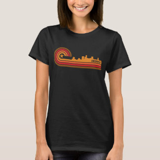 Camiseta Skyline retro de Greenville South Carolina do