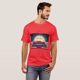 Camiseta Skyline retro de Las Vegas Nevada