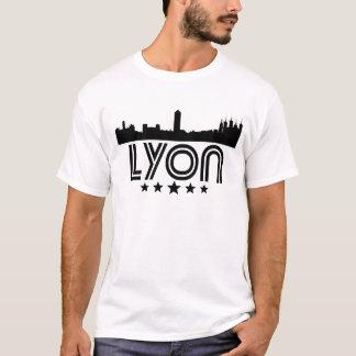 Camiseta Skyline retro de Lyon