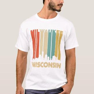 Camiseta Skyline retro de Milwaukee