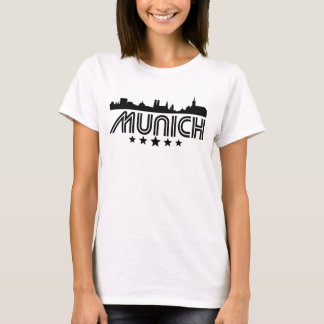Camiseta Skyline retro de Munich