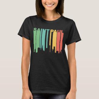 Camiseta Skyline retro de Saint Paul Minnesota do estilo