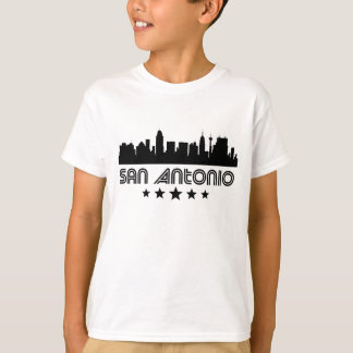 Camiseta Skyline retro de San Antonio