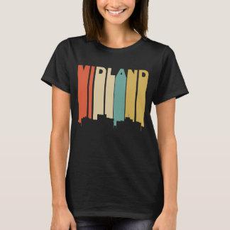 Camiseta Skyline retro de Texas do Midland do estilo dos