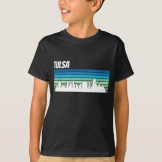 Camiseta Skyline retro de Tulsa