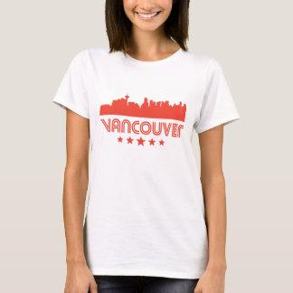 Camiseta Skyline retro de Vancôver