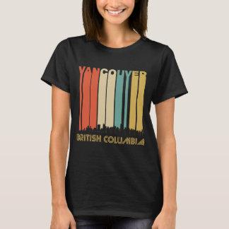 Camiseta Skyline retro de Vancôver Canadá
