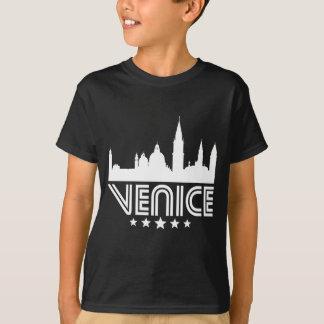 Camiseta Skyline retro de Veneza