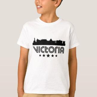 Camiseta Skyline retro de Victoria