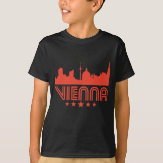 Camiseta Skyline retro de Viena