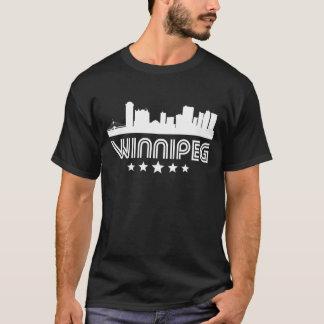 Camiseta Skyline retro de Winnipeg