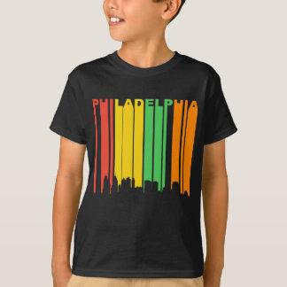 Camiseta Skyline retro do PA de Philadelphfia do estilo