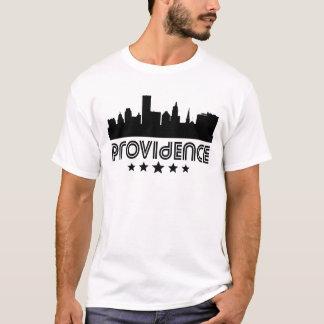 Camiseta Skyline retro do providência