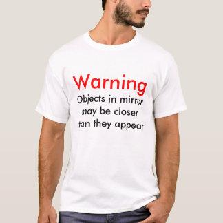 Camiseta Slogan do espelho
