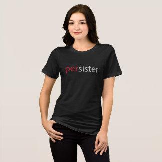 Camiseta Slogan do março das mulheres de Persister