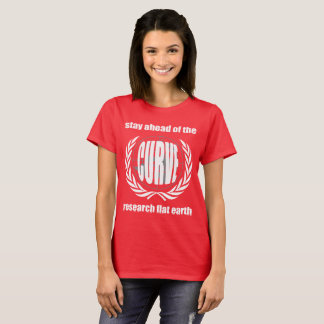 """Camiseta Slogan liso """"estada da terra antes da curva """""""