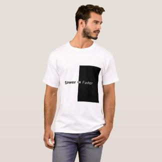 Camiseta Slower=Faster por 15ZonesStudio