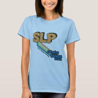 Camiseta SLP que traz para fora a voz dentro