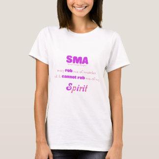 Camiseta SMA não pode Roubo meu espírito - rosa & roxo