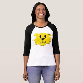 Camiseta Smiley do homem-lobo