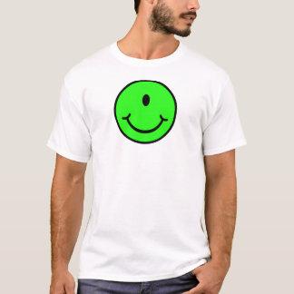 Camiseta Smiley estrangeiro - um olho