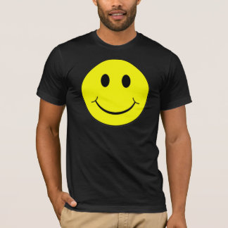 Camiseta Smiley face amarelo
