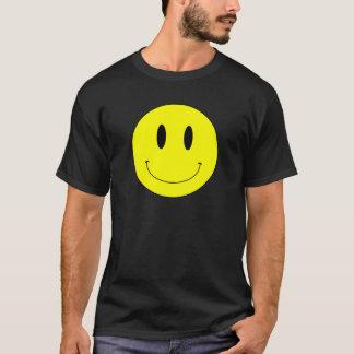Camiseta Smiley face amarelo do KRW