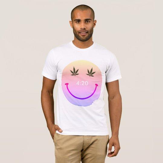 Camiseta Smiley face de MkFMJ