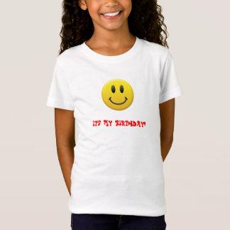 Camiseta Smiley face feliz