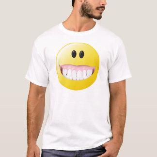 Camiseta Smiley face grande das gomas