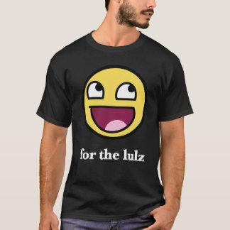 Camiseta Smiley impressionante para o lulz