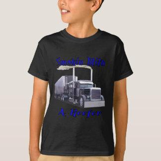 Camiseta Smokin com um Reefer