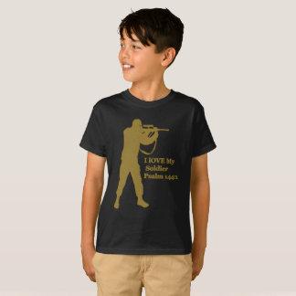 Camiseta snipper da solda do ouro