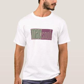 Camiseta snobe do Mac