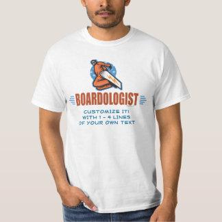 Camiseta Snowboarder engraçado do amante da snowboarding