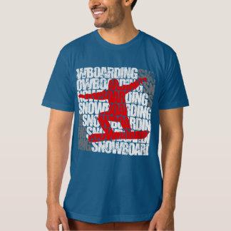 Camiseta Snowboarding #1 (branca)